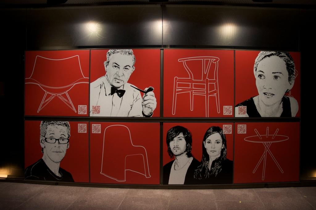 Danish Furniture Poster